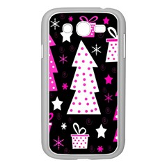 Pink playful Xmas Samsung Galaxy Grand DUOS I9082 Case (White)
