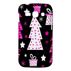 Pink playful Xmas Samsung Galaxy Ace 3 S7272 Hardshell Case
