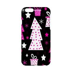 Pink playful Xmas Apple iPhone 6/6S Hardshell Case