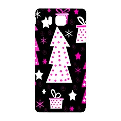 Pink playful Xmas Samsung Galaxy Alpha Hardshell Back Case