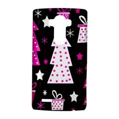 Pink playful Xmas LG G4 Hardshell Case