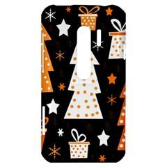 Orange playful Xmas HTC Evo 3D Hardshell Case