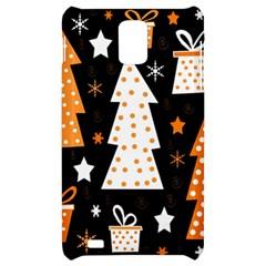 Orange playful Xmas Samsung Infuse 4G Hardshell Case
