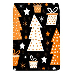 Orange playful Xmas Flap Covers (S)
