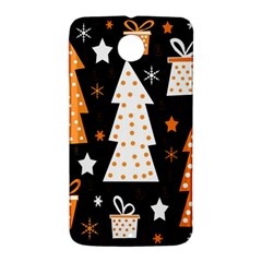 Orange playful Xmas Nexus 6 Case (White)