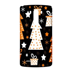 Orange playful Xmas LG G3 Back Case