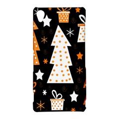 Orange playful Xmas Sony Xperia Z3