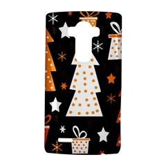 Orange playful Xmas LG G4 Hardshell Case