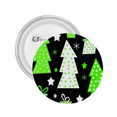 Green Playful Xmas 2.25  Buttons