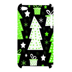 Green Playful Xmas Apple iPod Touch 4