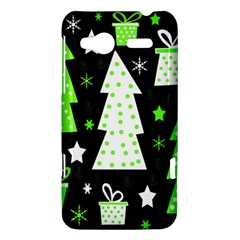 Green Playful Xmas HTC Radar Hardshell Case