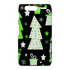 Green Playful Xmas Motorola Droid Razr XT912