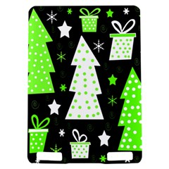 Green Playful Xmas Kindle Touch 3G
