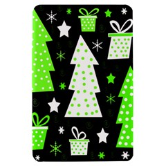 Green Playful Xmas Kindle Fire (1st Gen) Hardshell Case