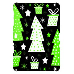 Green Playful Xmas Samsung Galaxy Tab 10.1  P7500 Hardshell Case