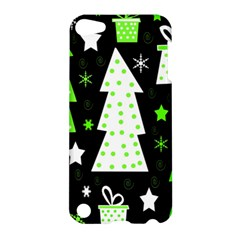 Green Playful Xmas Apple iPod Touch 5 Hardshell Case