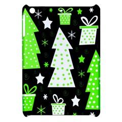 Green Playful Xmas Apple iPad Mini Hardshell Case