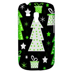 Green Playful Xmas Samsung Galaxy S3 MINI I8190 Hardshell Case
