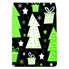 Green Playful Xmas Flap Covers (S)