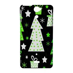 Green Playful Xmas Sony Xperia V