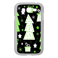 Green Playful Xmas Samsung Galaxy Grand DUOS I9082 Case (White)