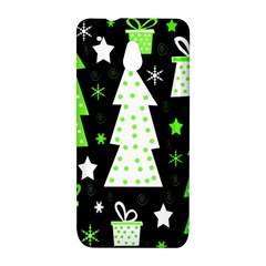 Green Playful Xmas HTC One Mini (601e) M4 Hardshell Case