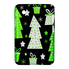 Green Playful Xmas Samsung Galaxy Tab 2 (7 ) P3100 Hardshell Case