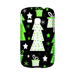 Green Playful Xmas Samsung Galaxy S6310 Hardshell Case