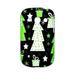 Green Playful Xmas Samsung Galaxy S6810 Hardshell Case