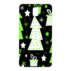 Green Playful Xmas Samsung Galaxy Note 3 N9005 Hardshell Back Case