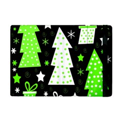 Green Playful Xmas iPad Mini 2 Flip Cases