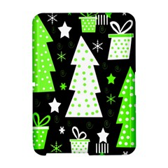 Green Playful Xmas Amazon Kindle Fire (2012) Hardshell Case