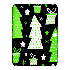 Green Playful Xmas Samsung Galaxy Tab 4 (10.1 ) Hardshell Case
