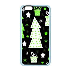 Green Playful Xmas Apple Seamless iPhone 6/6S Case (Color)