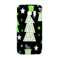 Green Playful Xmas Galaxy S6 Edge