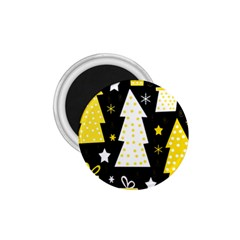 Yellow playful Xmas 1.75  Magnets