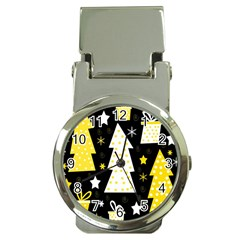 Yellow playful Xmas Money Clip Watches