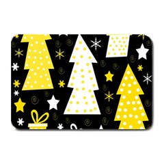 Yellow playful Xmas Plate Mats