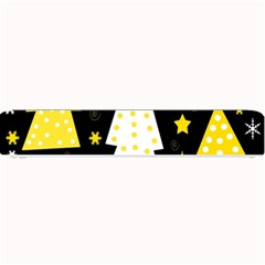Yellow playful Xmas Small Bar Mats