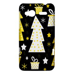 Yellow playful Xmas HTC Radar Hardshell Case