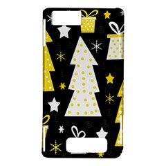 Yellow playful Xmas Motorola DROID X2