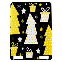 Yellow playful Xmas Kindle Touch 3G