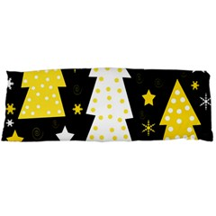 Yellow playful Xmas Body Pillow Case (Dakimakura)