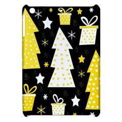 Yellow playful Xmas Apple iPad Mini Hardshell Case