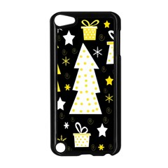 Yellow playful Xmas Apple iPod Touch 5 Case (Black)