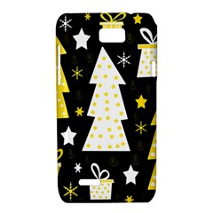 Yellow playful Xmas Motorola XT788