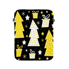 Yellow playful Xmas Apple iPad 2/3/4 Protective Soft Cases