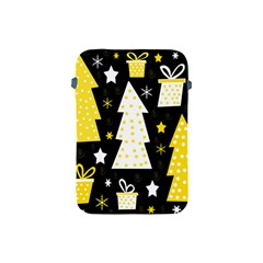 Yellow playful Xmas Apple iPad Mini Protective Soft Cases
