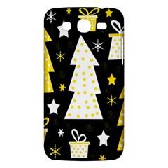 Yellow playful Xmas Samsung Galaxy Mega 5.8 I9152 Hardshell Case