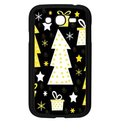 Yellow playful Xmas Samsung Galaxy Grand DUOS I9082 Case (Black)